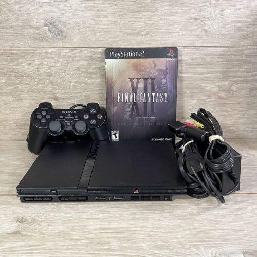 Sony PlayStation 2 PS2 Slim Console SCPH-70012 W/ Controller, Cords, Game - $120.00