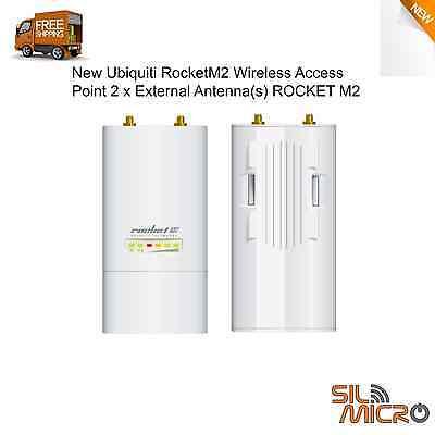 Ubiquiti RocketM2, RM2 2.4GHz Rocket 2x2 11n MIMO CPE AirMax TDMA 50+km 150+Mbps