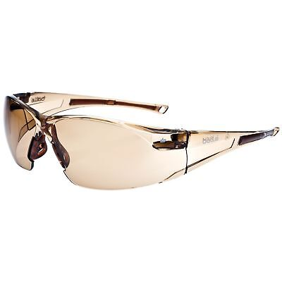 Anti Fog Safety Glasses - Bolle Rush Safety Glasses with Brown Anti-Fog Lens