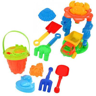 12tlg. Sandspielzeug Set Sandkasten Spielzeug Sand Strand Eimergarnitur LKW