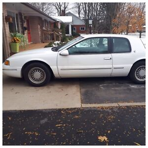 '97 Mercury Cougar XR7, SAFETIED, newly painted, new tires