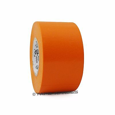 1 Roll Orange Vinyl Pvc Electrical Tape 2 X 66 Flame Retardant Free Shipping
