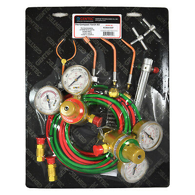 Gentec Kcma16sp Acetylene Torchjewelryhvac Kit With Regulators
