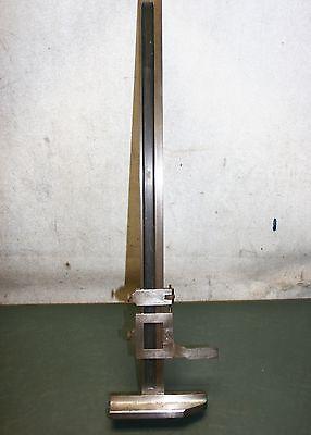 Brown Sharpe 18 Vernier Height Gage 585