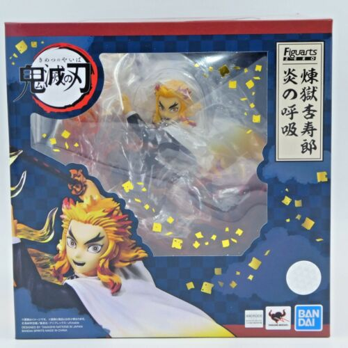 Bandai Spirits Figuarts ZERO Kyojuro Rengoku Flame Breathing Demon Slayer Figure
