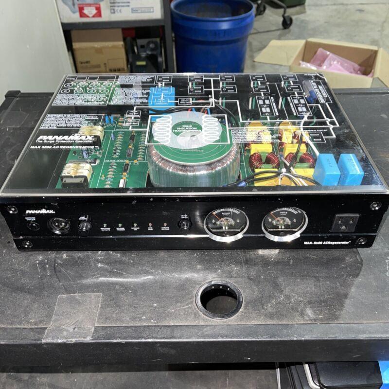 Panamax Max 5500 AC Regenerator Power Surge