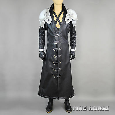 FF Final Fantasy 7 VII AC Sephiroth Advent Children Cosplay Costume Kostüm - Sephiroth Cosplay Kostüm