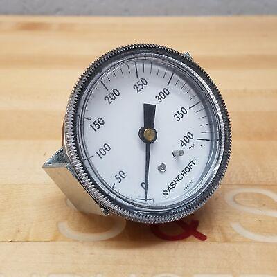 Ashcroft 586-10 Pressure Gauge 0-400 Psi - Used