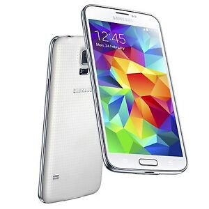 Samsung Galaxy S5 SM-G900A 4G LTE 16GB White Unlocked -- New-