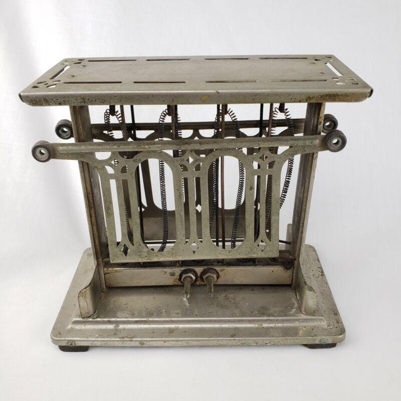 VTG Antique Universal Landers Frary Clark Pincher Toaster E948T Art Deco 1920s