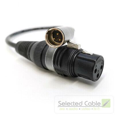 Y-Kabel Kabel XFMM 1,0m 1 x XLR female auf 2 x XLR male Omnitronic Audiokabel