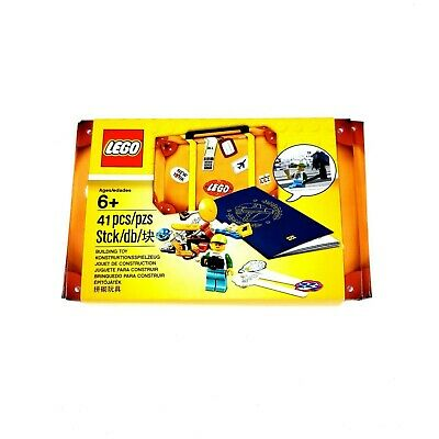 Lego 5004932 Mini Summer Vacation Suitcase Set with Travel Passport & Minifigure
