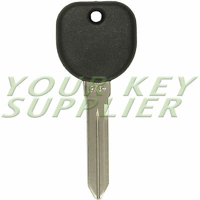 New Uncut Transponder Chip Ignition Key For 2003   2007 Cadillac Cts B112 Pt