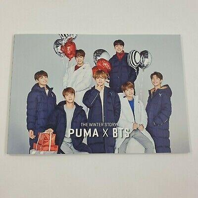 BTS PUMA The Winter Story Event Photobook K-POP Bangtan boys Goods Opened Used