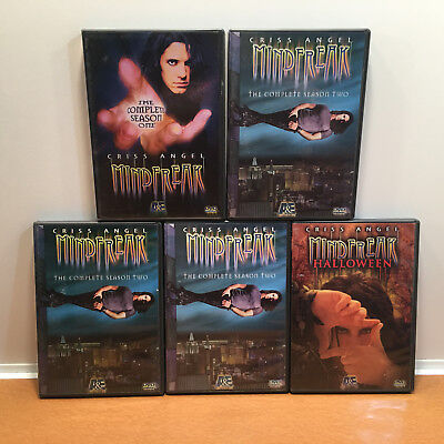 Criss Angel: Mindfreak, DVD Box Set, Seasons 1-2 and Halloween Special - Halloween Specials Tv Shows