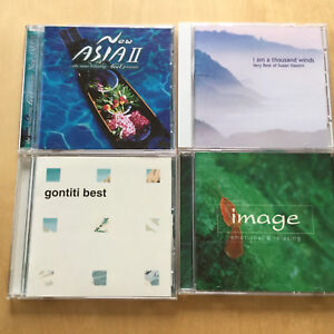 4 CD/Asian Relaxation Music Collection / T.Hakase/ Susan Osborn