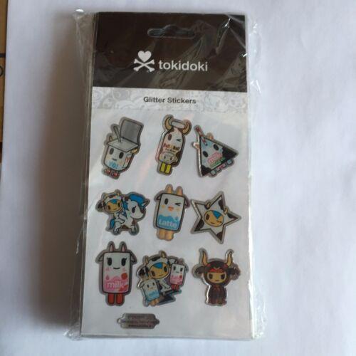 tokidoki Glitter Stickers - moofia