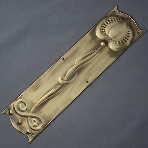 Brass-Art-Nouveau-Style-Finger-Plate