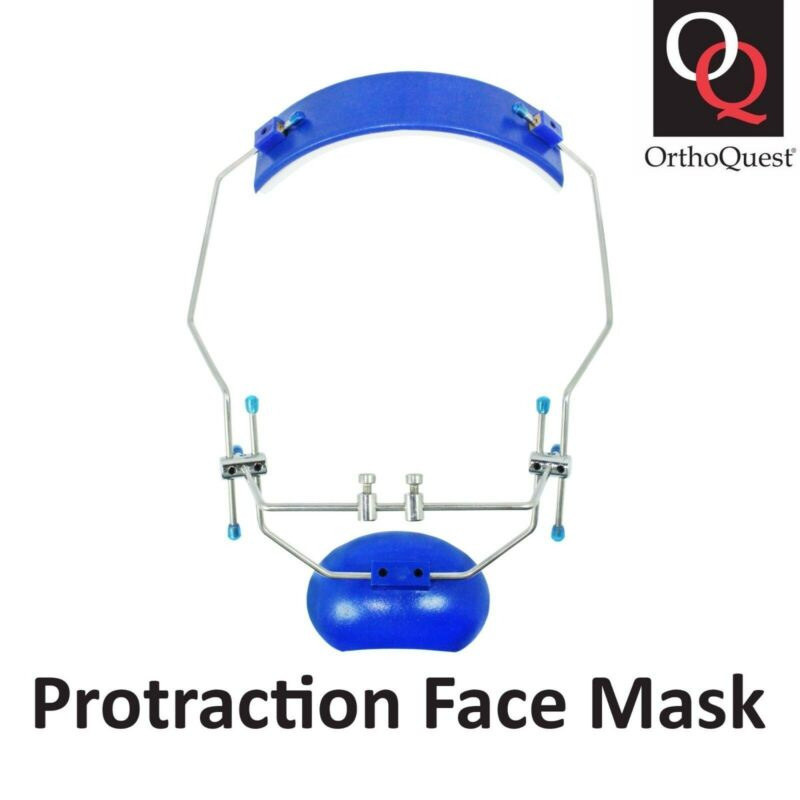 OrthoQuest Dental Orthodontic Protraction Facial Mask Reverse Pull Headgear