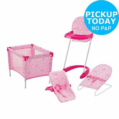 Chad Valley Babies to Love Doll Sleep, Feed and Travel Set