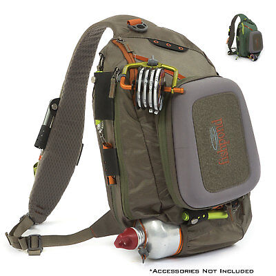 Fishpond Summit Sling Fly Fishing Pack Hands Free Gear Shoulder Bag Net -