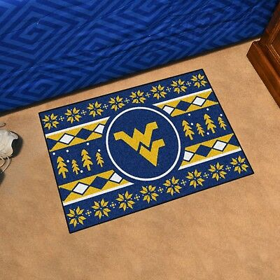 West Virginia Mountaineers Holiday Sweater Design 19