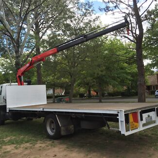Crane truck with Driver