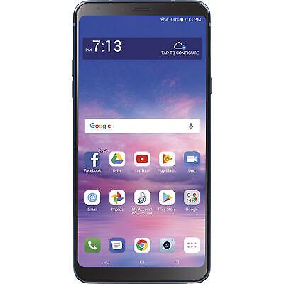 Straight Talk STLML713DCP LG Stylo 4 Prepaid Smartphone ()