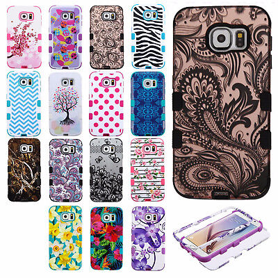 For Samsung Galaxy S6 IMPACT TUFF HYBRID Case Skin Phone Covers Accessory ()