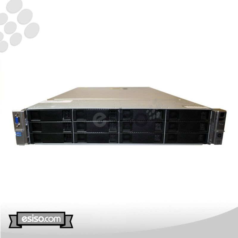 Hp Proliant Dl380e Gen8 12 Lff 2x Six Core E5-2440 2.4ghz 24gb Ram 12x Tray H220