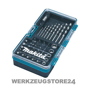 makita b 28628 bohrer bit set 48 tlg bohrersatz bitsatz f r akkuschrauber ebay. Black Bedroom Furniture Sets. Home Design Ideas