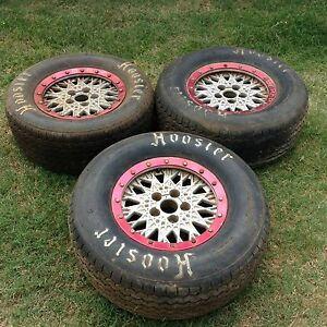 Speedway falcon 15 inch bead lock rims and tyres. Upper Caboolture Caboolture Area Preview