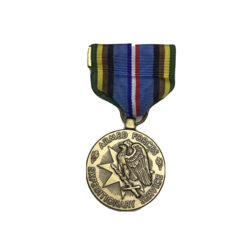 U.S. Armed Forces Expeditionary Military Medal with RIBBON