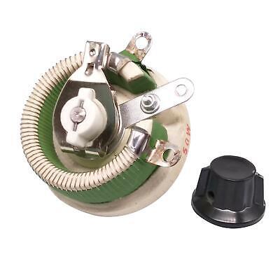 50w 10 Ohm High Power Wirewound Potentiometer Rheostat Variable Resistor