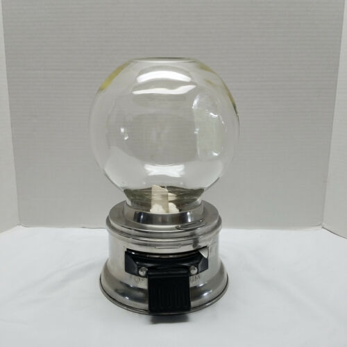 Ford Gumball Machine 10 Cent Vintage Glass Globe With Out Decals With key
