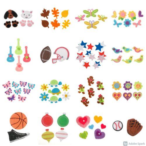 Darice Felt Sticker Sets Felties (18 Choices!) ABCrafts