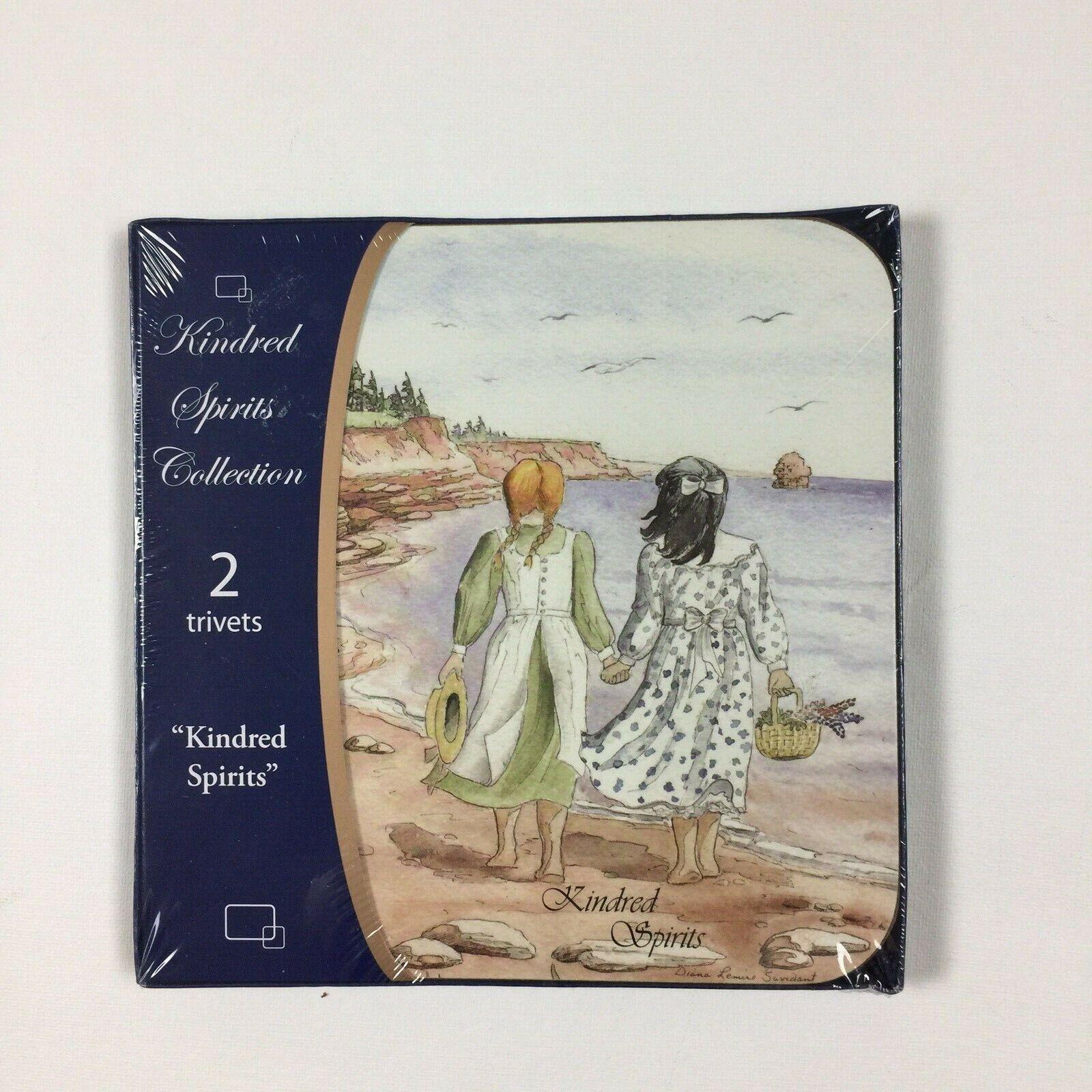 New Kindred Spirits Collection Trivet Set Anne of Green Gabl