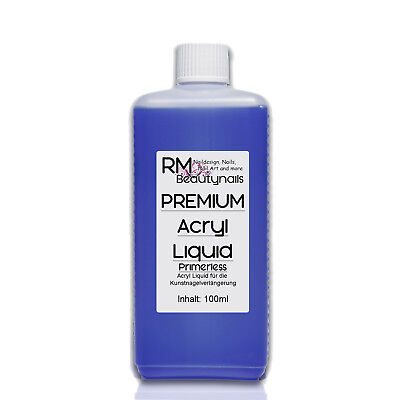 Acryl Liquid Flüssigkeit Primerless 100ml 500ml 1000ml Nageldesign Nail #00559