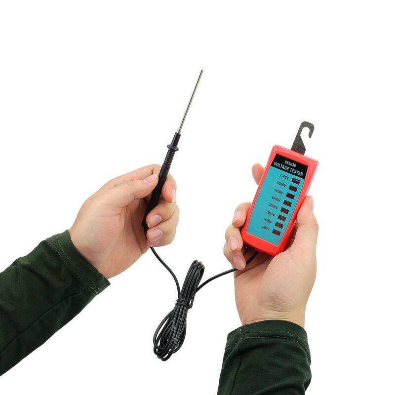 Electric Fence Voltage Tester 600V to 7000V Fence Controller Pocket Garden Tools