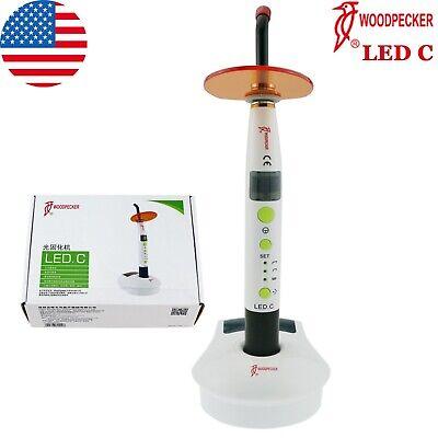 100 Woodpecker Dental Curing Light Cure Lamp Wireless 1200mw Led C Original