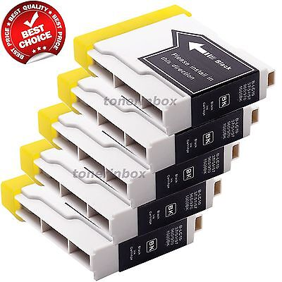 5 Pack LC51 LC-51 BK Ink for Brother MFC-665CW, MFC-685CW, MFC-845CW, MFC-885CW Brother Lc51 Compatible Ink