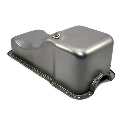 - Front Sump Raw Steel Oil Pan – 63-96 SBF Ford 302 Small Block 260 289 5.0