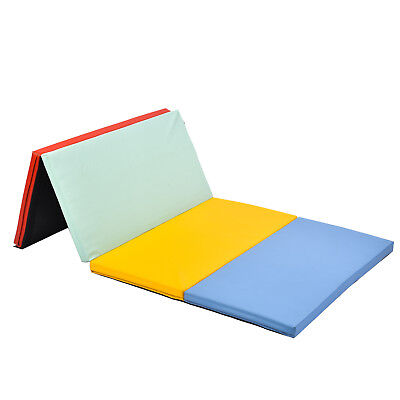 Thick Folding Panel Gymnastics Mat Gym Fitness Exercise Mat All Color