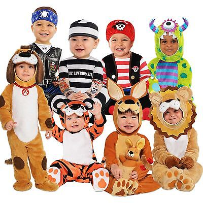 Boys Girls Baby Toddler Cute Babygrow Fancy Dress Costume Novelty Outfit - Cute Baby Boy Halloween Costumes