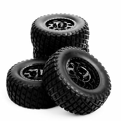 #262 1:10 Scale RC Short Course Truck Tire & Wheel 12mm Hex For TRAXXAS SlASH
