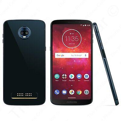 Unlocked Motorola - Moto Z3 Play Cell Phone  XT1929 -- 64GB Memory (Deep Indigo)