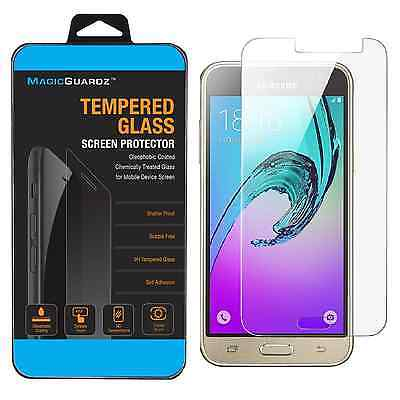 Premium Tempered Glass Screen Protector For Samsung Galaxy J3 (2016)