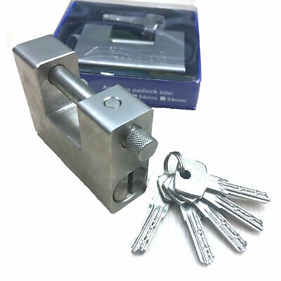 Heavy Duty Padlockchain Lock 94mm Shipping Container Garage Warehouse
