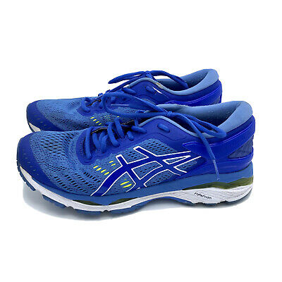 Asics Gel Kayano 24 T799N Blue White Running Shoes  Womens Sneakers Size 8.5