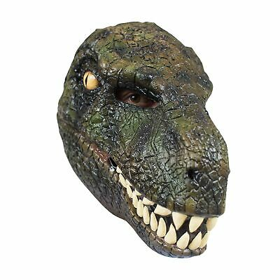 Velociraptor T Rex Dinosaur Costume Mask Full Latex Head Mask Adults Teens](Teen Dinosaur Costume)